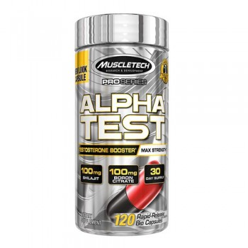 Alpha Test 120 caps