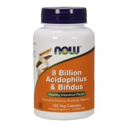8 Billion Acidophilus & Bifidus 120 caps