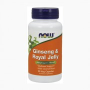 Ginseng & Royal Jelly 90 vcaps