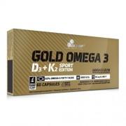 Gold Omega 3 D3 + K2 Sport Edition 60 caps